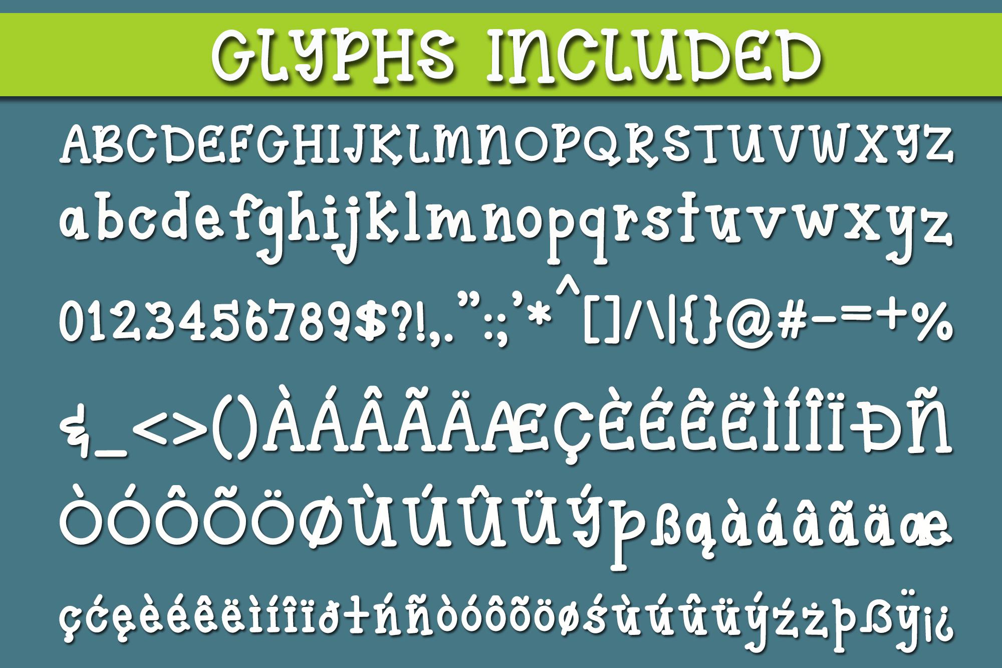 Lime Mojito - A Fun Serif Font example image 2