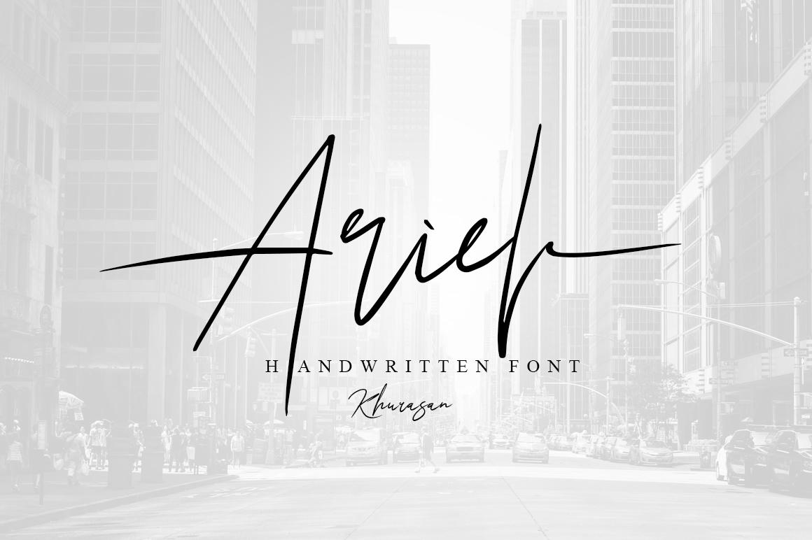 Ariel Signature example image 1