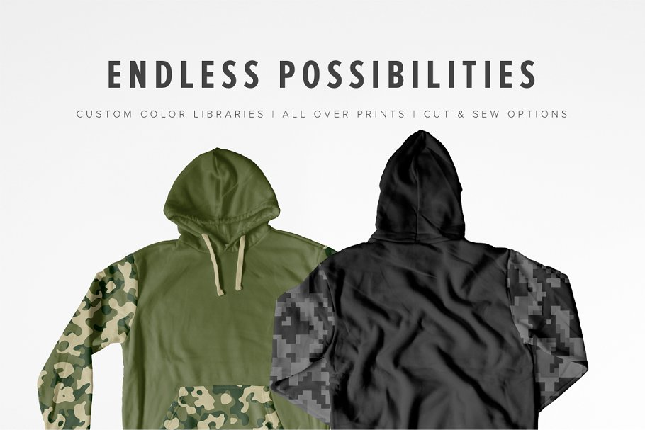 8 Premium Pullover Hoodie Mockups example image 2