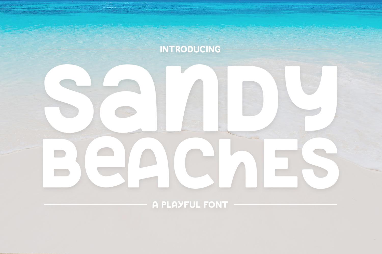 Sandy Beaches example image 2