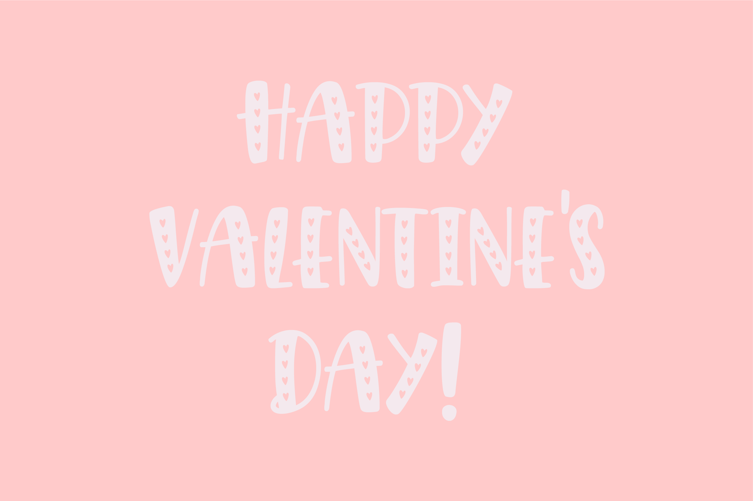 Giggle Hearts, An adorable valentine day font example image 3