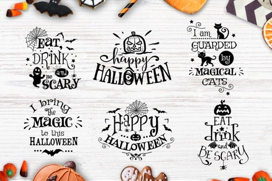 Halloween bundle 40 SVG , Eps, Dxf, Png for Cricu example image 8
