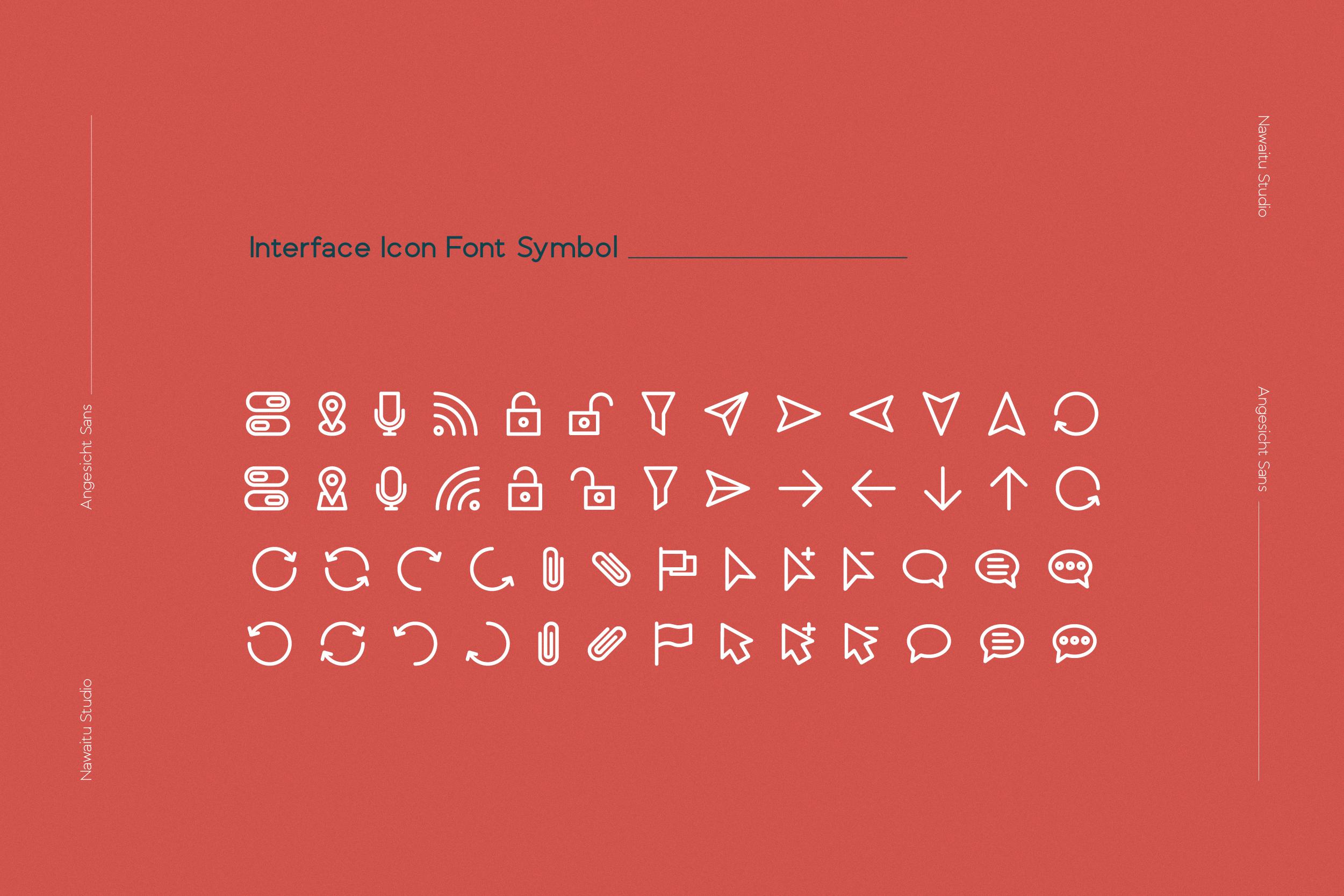 Angesicht   Modern Sans Serif example image 4