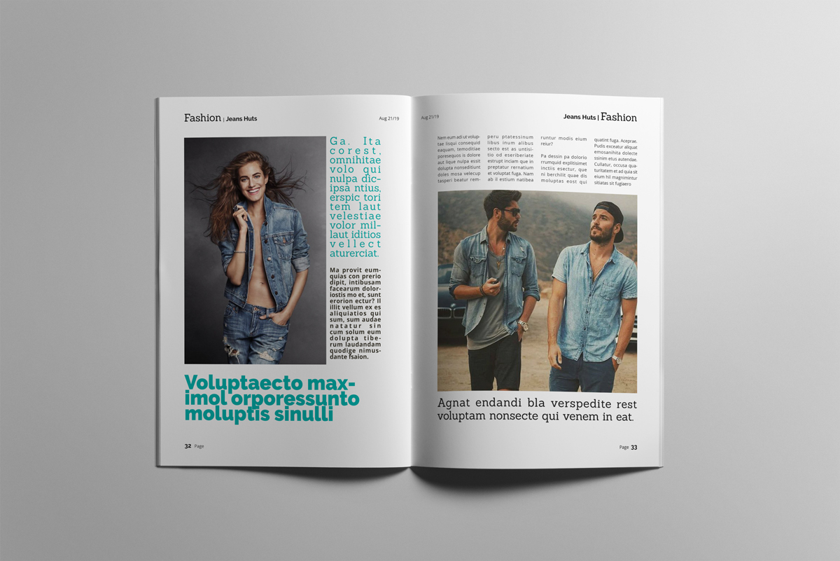 Magazine layout design example image 17