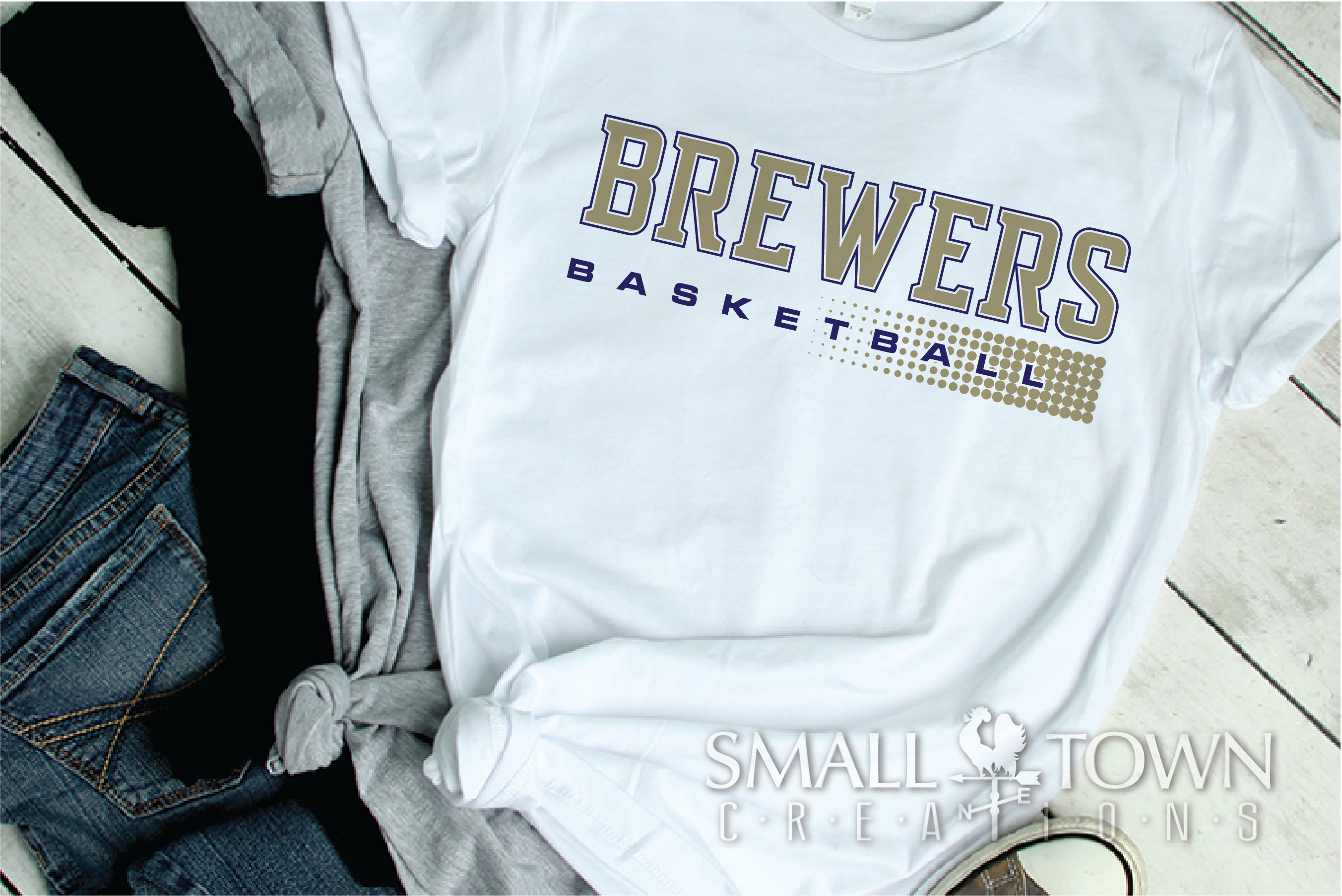 Brewer, Basketball, Sport, Team, Logo, PRINT, CUT, DESIGN example image 2