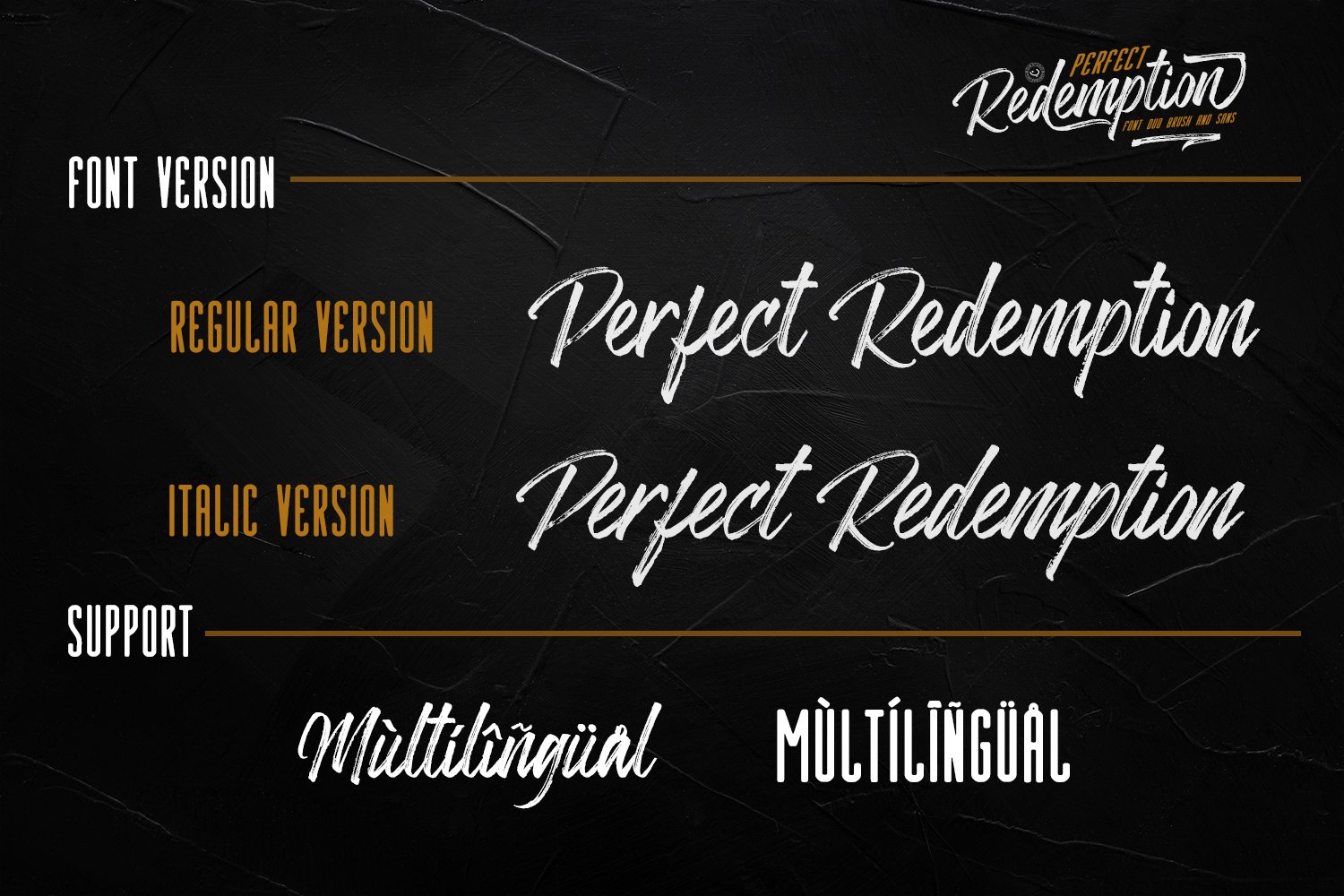 Perfect Redemption- Font Duo and Extras example image 11