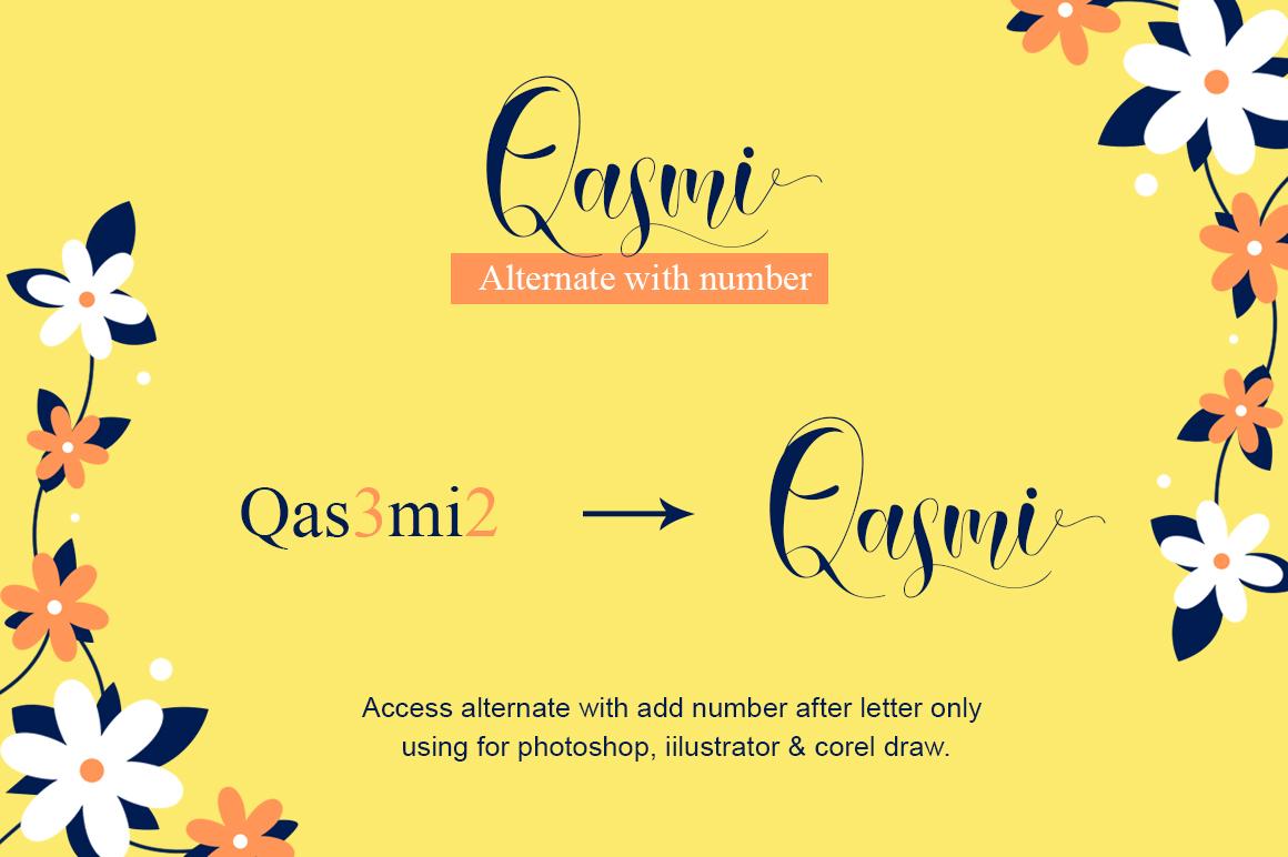 Qasmi Script example image 3