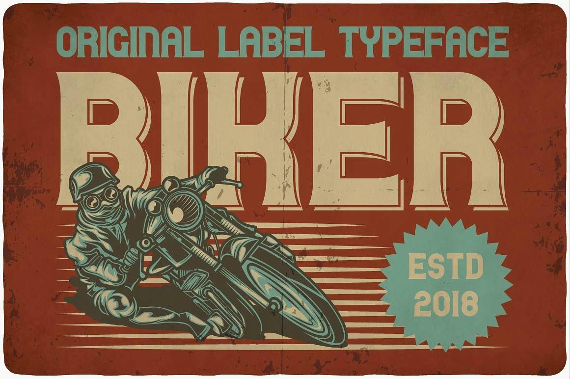 Biker example image 6