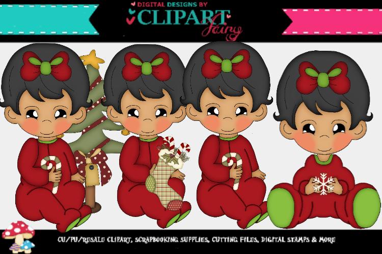 Baby Girl Christmas 2 example image 1
