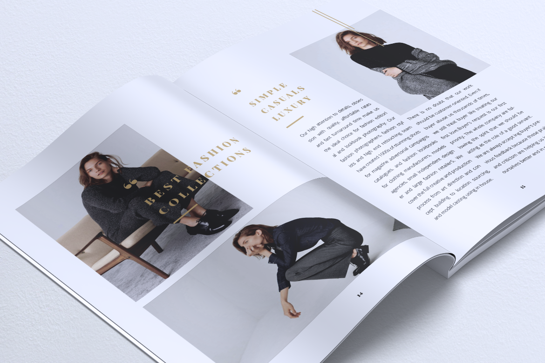 NEBULA Minimal Lookbook Magazine Styles example image 15