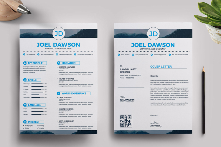 Resume Templates example image 4