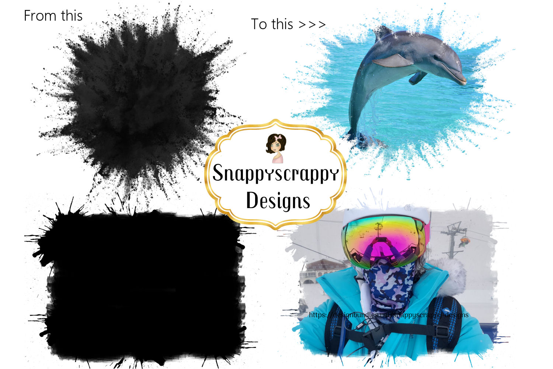 Clipping Masks Set 1 example image 3