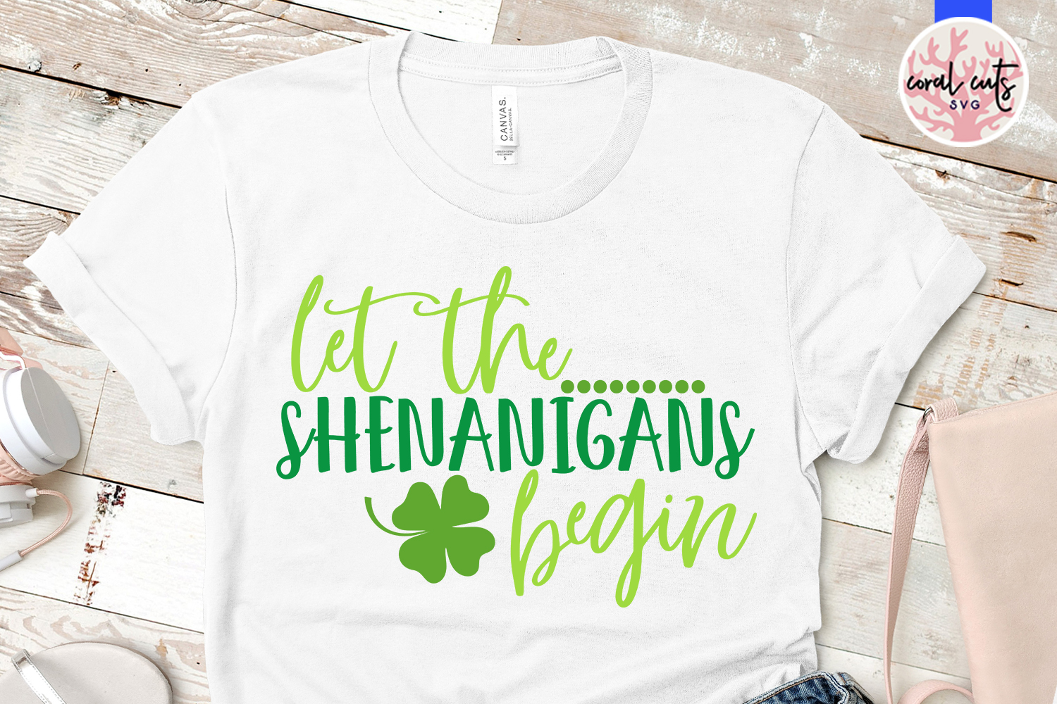 Let the shenanigans begin - St. Patrick's Day SVG EPS DXF example image 2