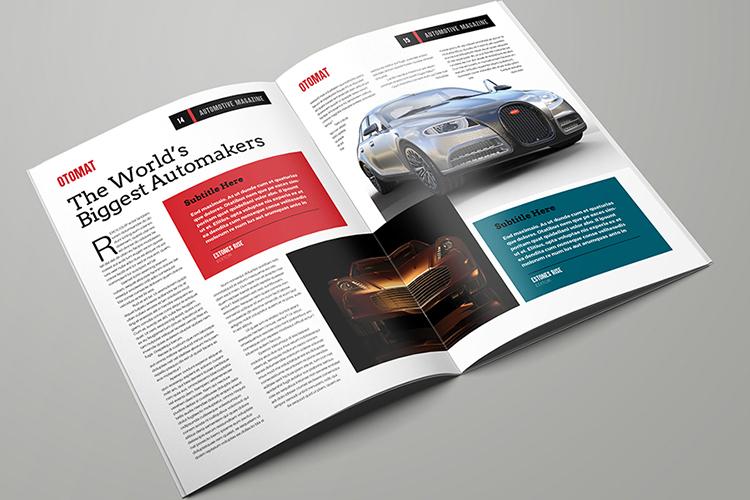 Automotive Magazine Template - Otomat example image 8
