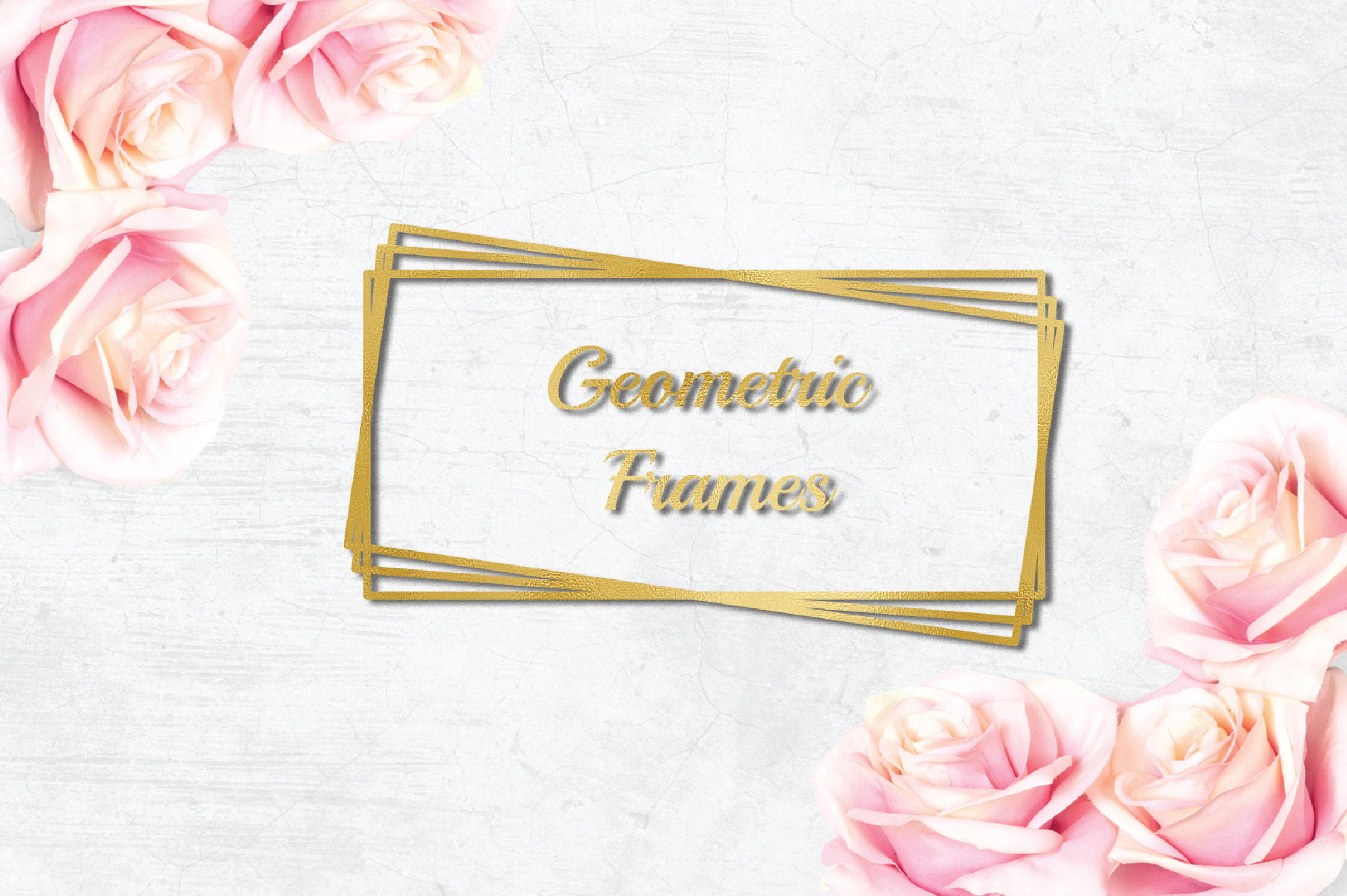 Geometric Frames SVG example image 3