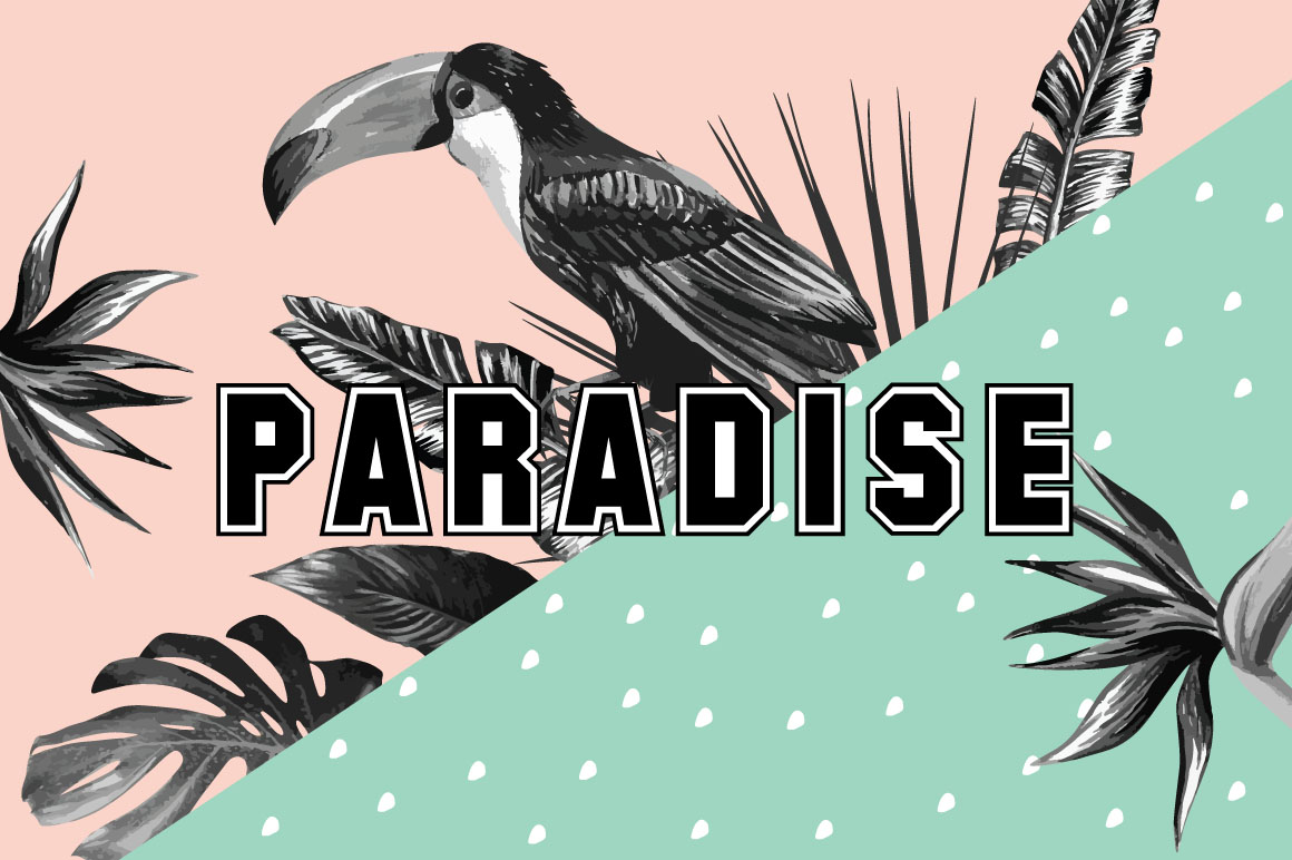Paradise collection example image 1