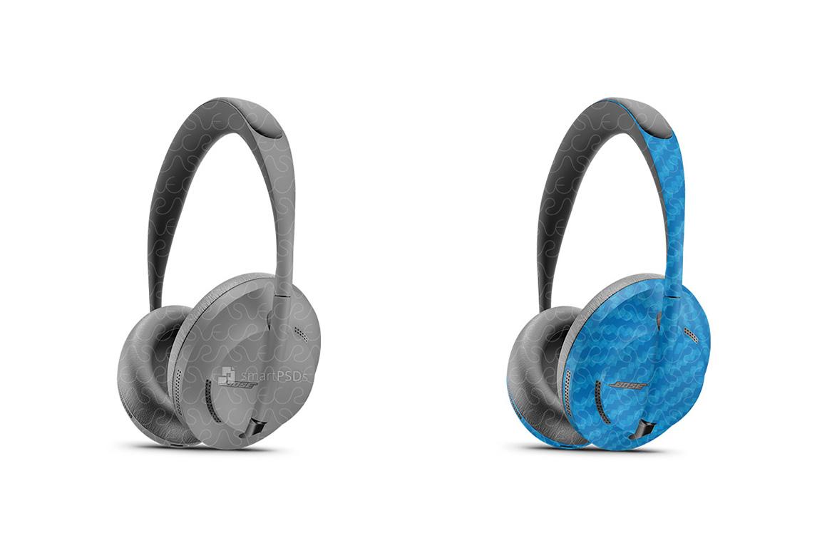 Bose Headphones 700 2019 Smart PSD Skin Mockup Template example image 1
