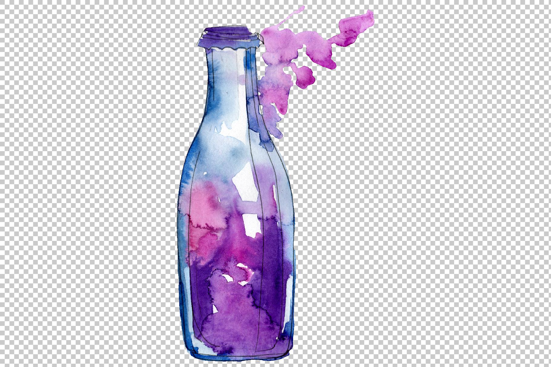 Drinks Juliet Watercolor png example image 2