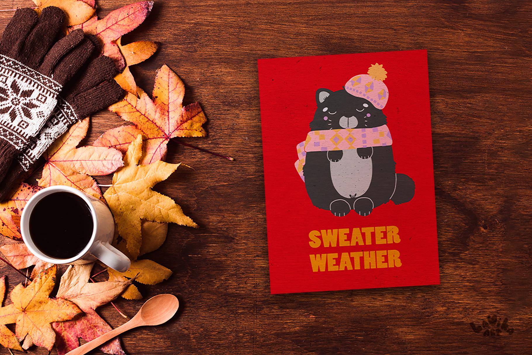 Character creator - Fall holidays example image 8