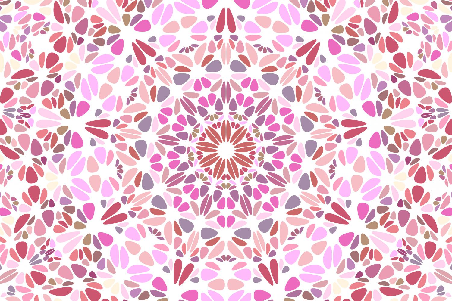 48 Floral Mandala Backgrounds example image 5