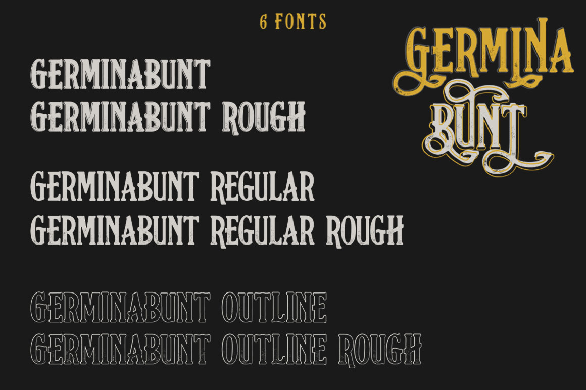 Germinabunt Fonts example image 4