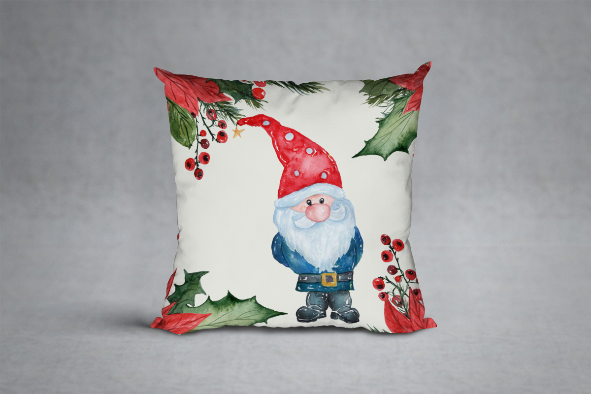 Watercolor Christmas Cars clipart example image 9