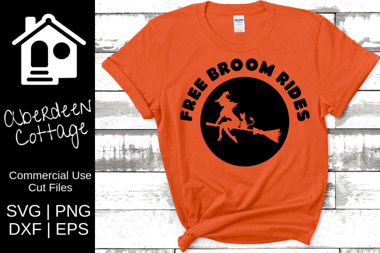 Free Broom Rides SVG example image 1