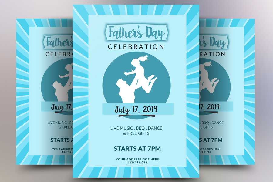 Fathers Day Poster example image 1