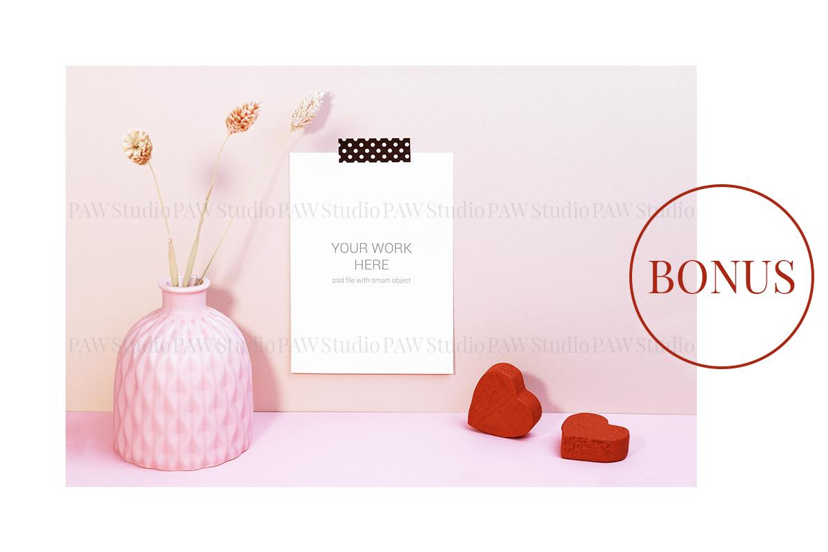 Card mockup with sleeping mask & FREE BONUS example image 6