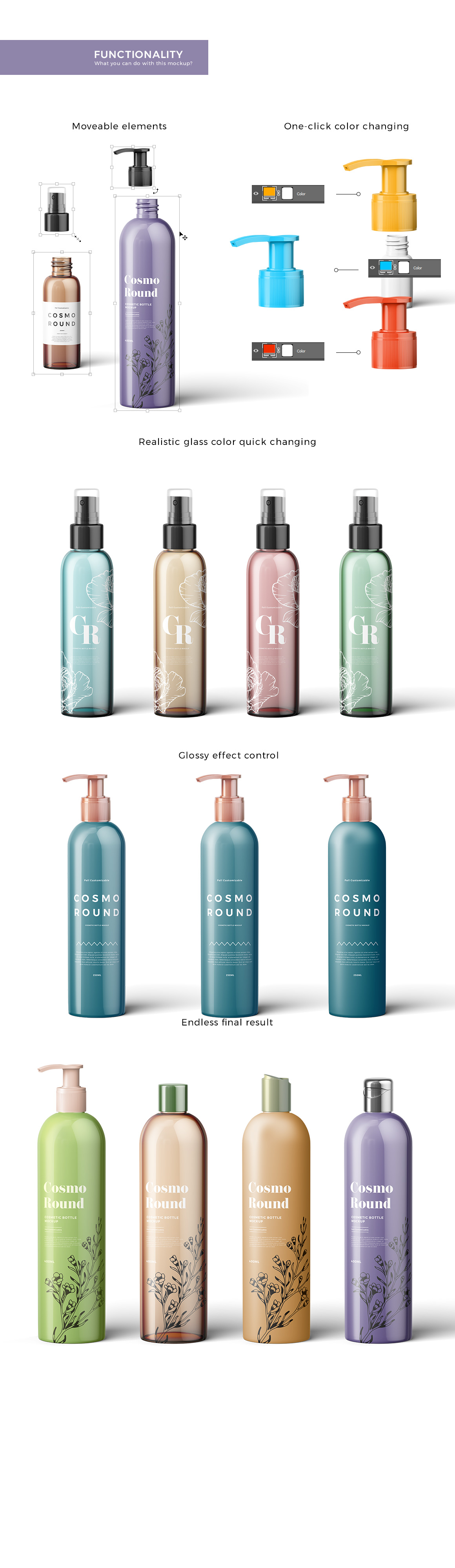 Cosmetic Bottles Mockup Vol.3 example image 4