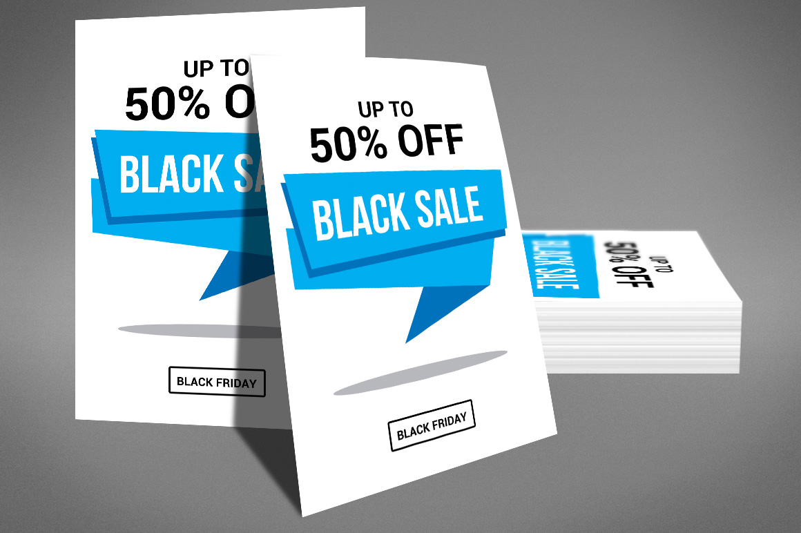 Black Friday Sale Flyer example image 2
