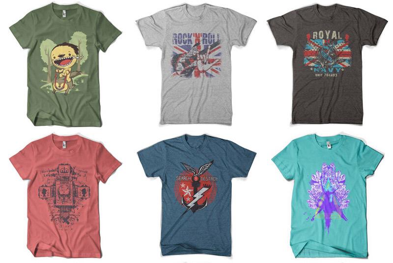 100 Premium T-shirt Designs example image 13