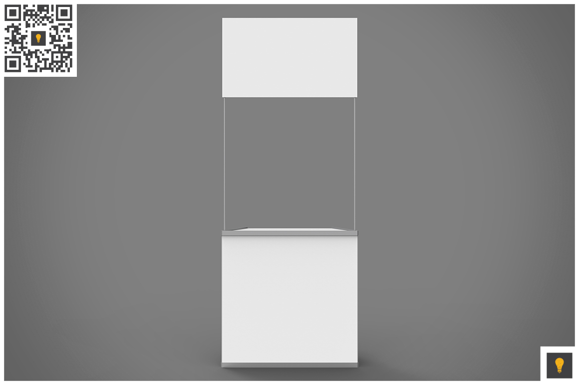 Promo Counter 3D Render example image 4