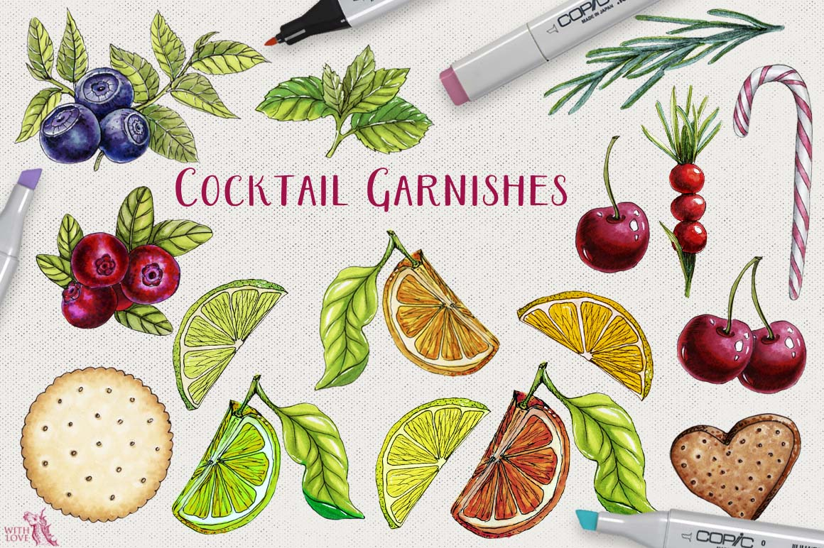 Cocktail Party Marker Bundle example image 4