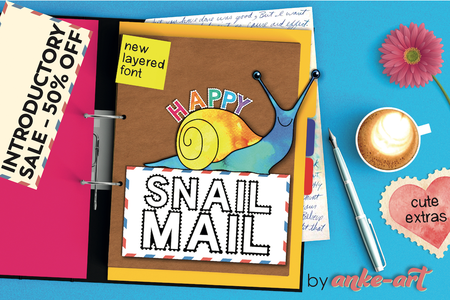 Happy Snail Mail example image 1