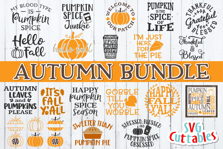 Autumn Bundle| Fall Bundle | Cut Files example image 1
