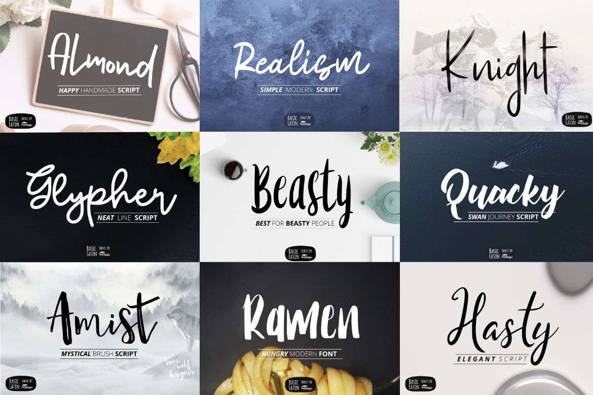 Humble Deal - 20 Font Bundle example image 2
