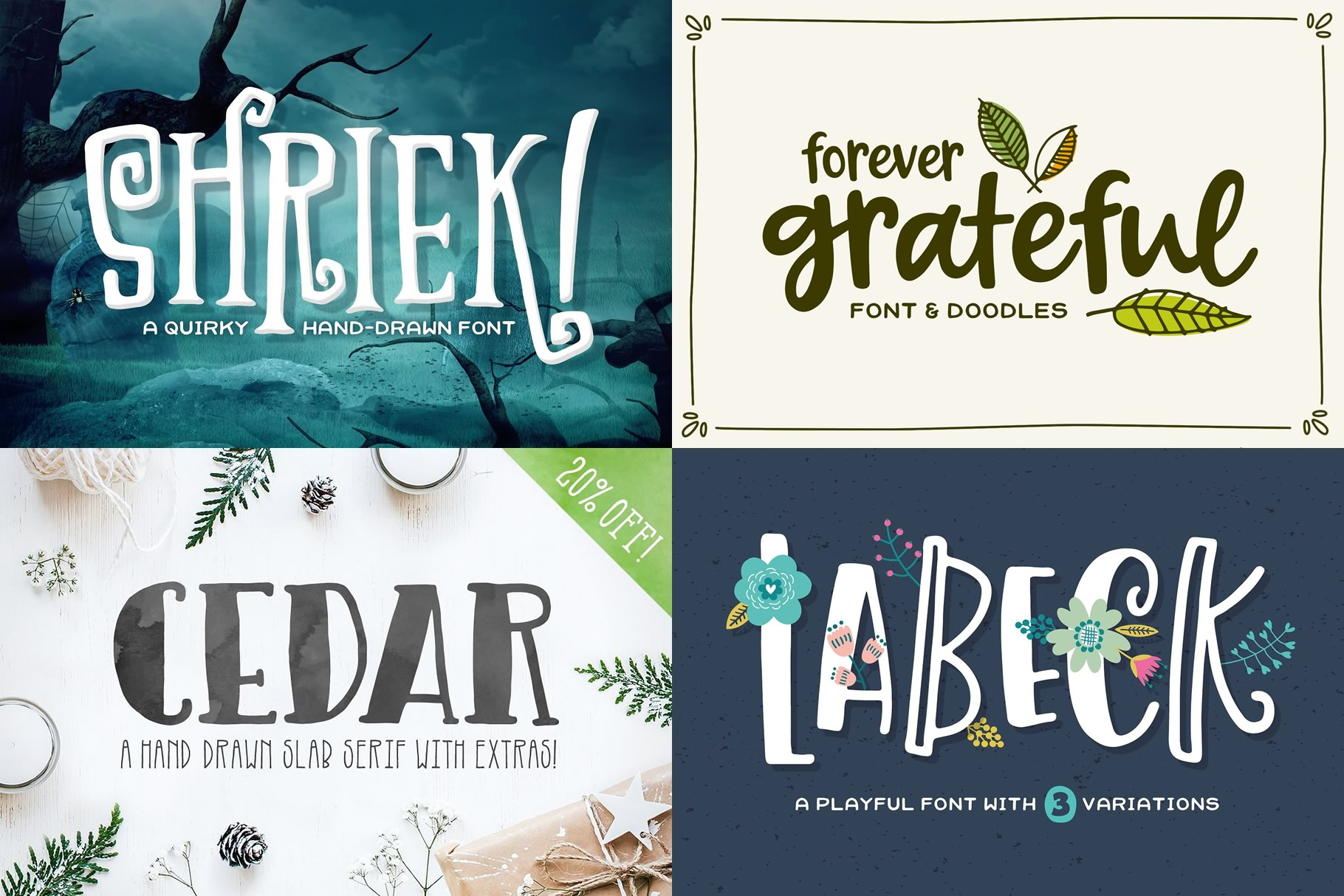 Sweet Dreams Font Bundle example image 4
