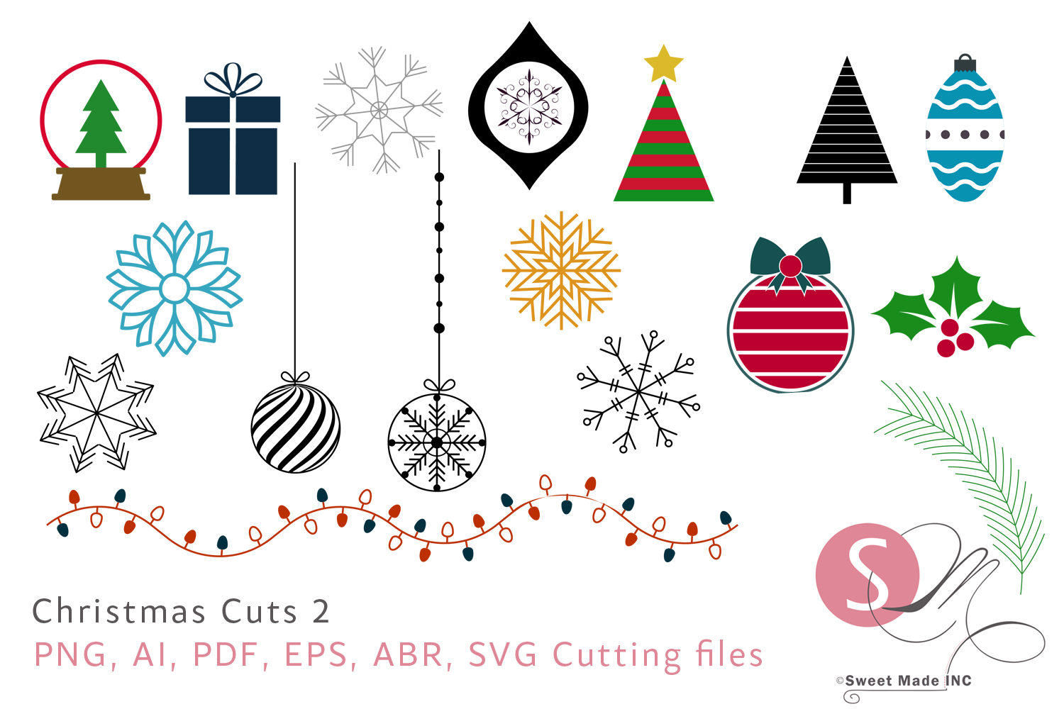 Christmas Cuts 2 example image 1