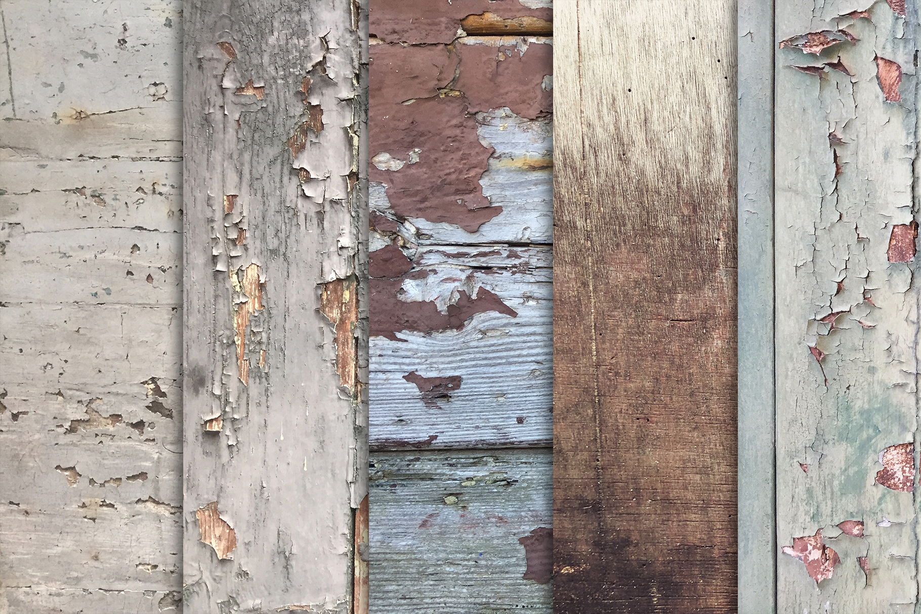 Grunge Wood Textures x10 example image 2