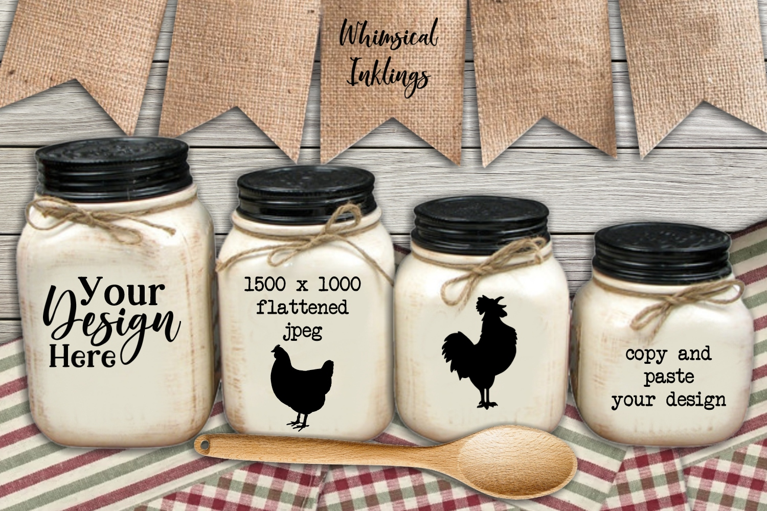 Country Canisters Mock Up example image 1