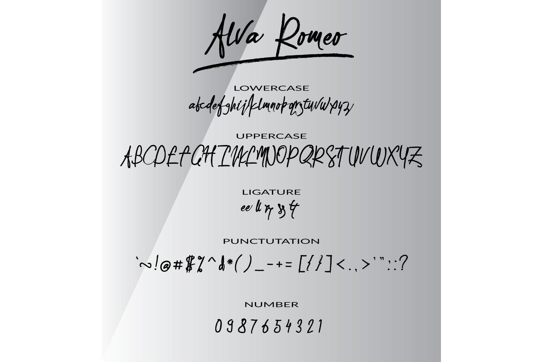 Alva Romeo example image 4