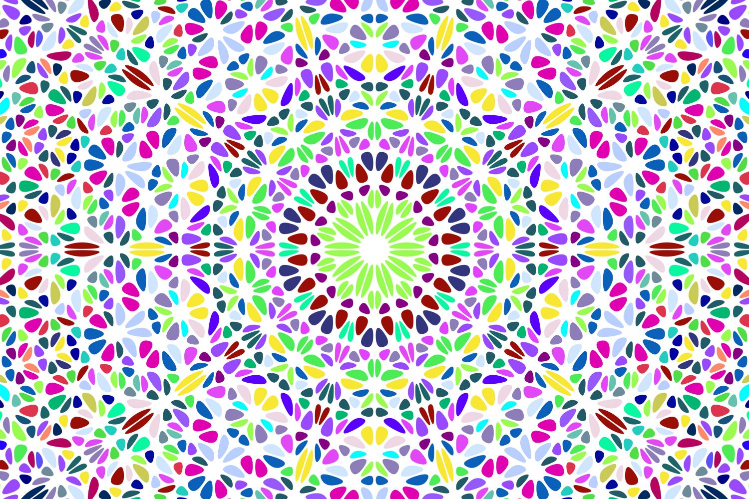 48 Floral Mandala Backgrounds example image 16