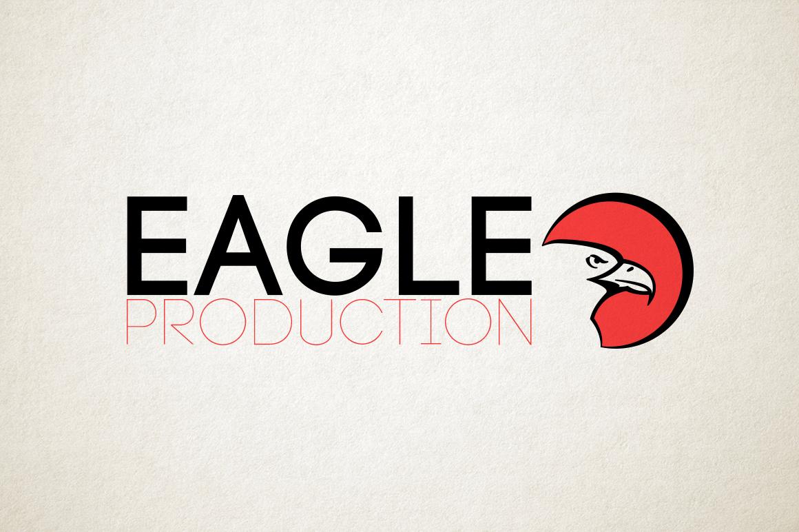EAGLE vector logo example image 3