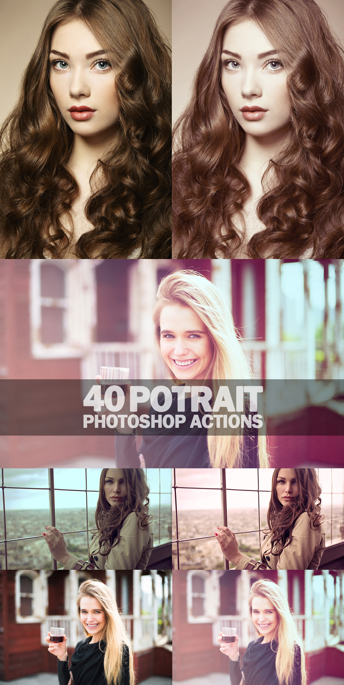 1850 Photoshop Actions example image 10
