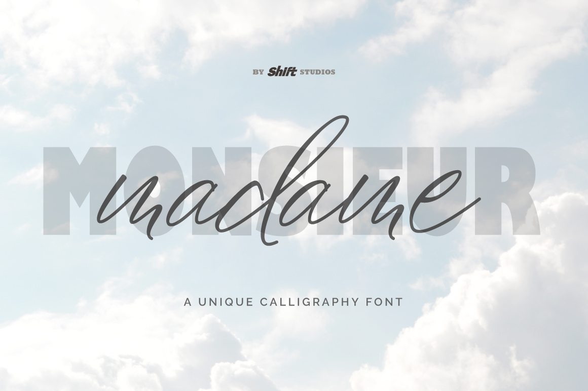 Madame Typeface example image 1