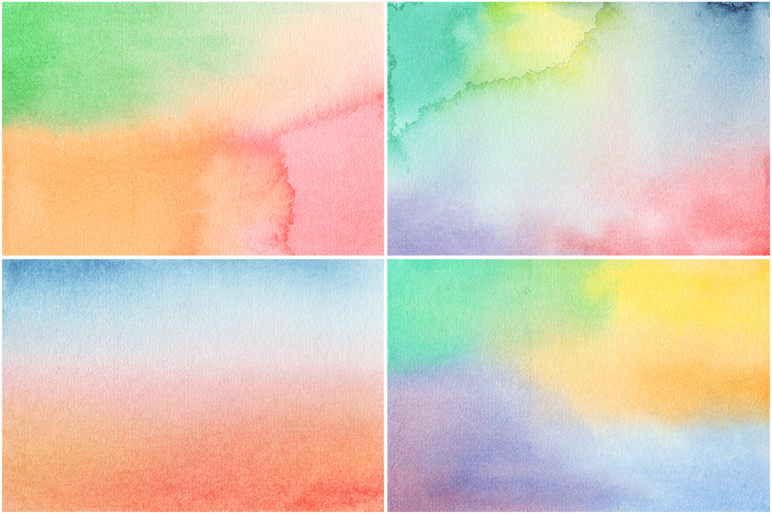 20 Watercolor Backgrounds example image 5