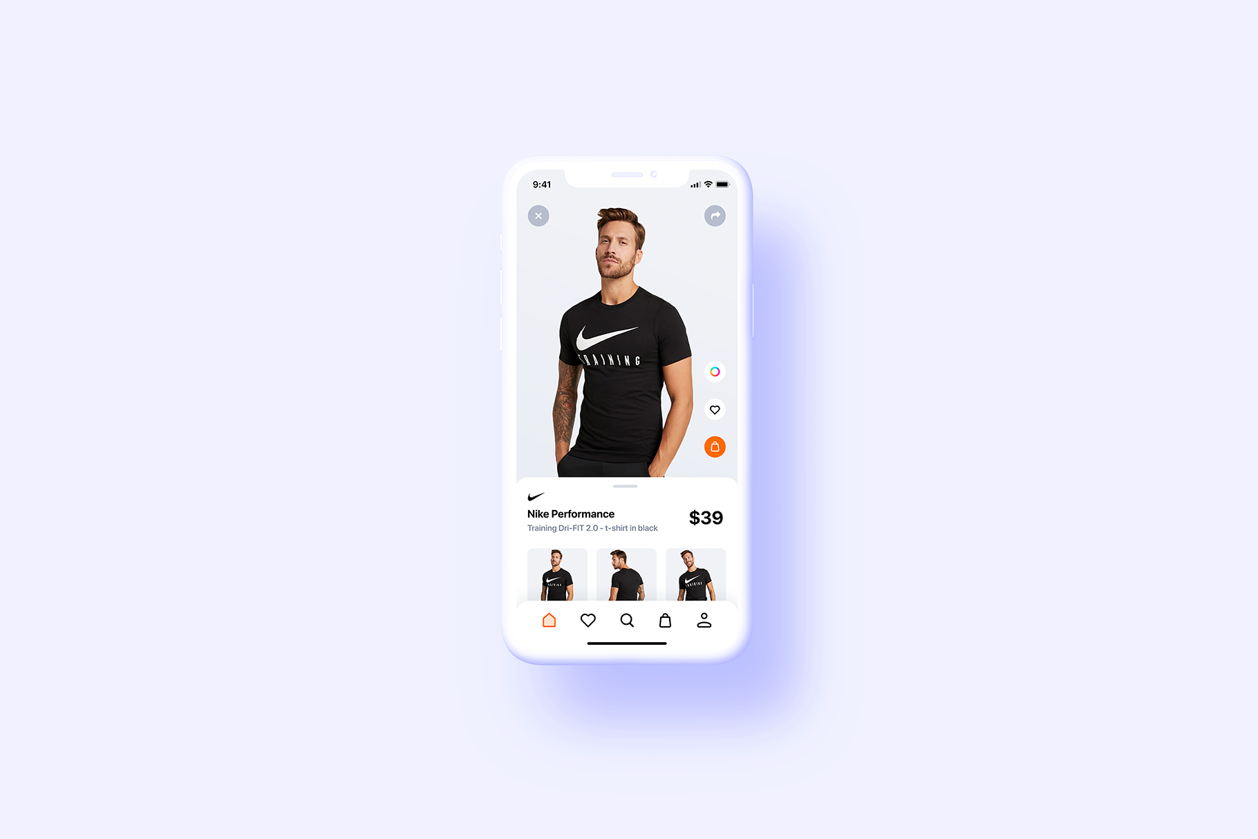 iPhone 11 Pro - 20 Clay Mockups Scenes - PSD example image 7
