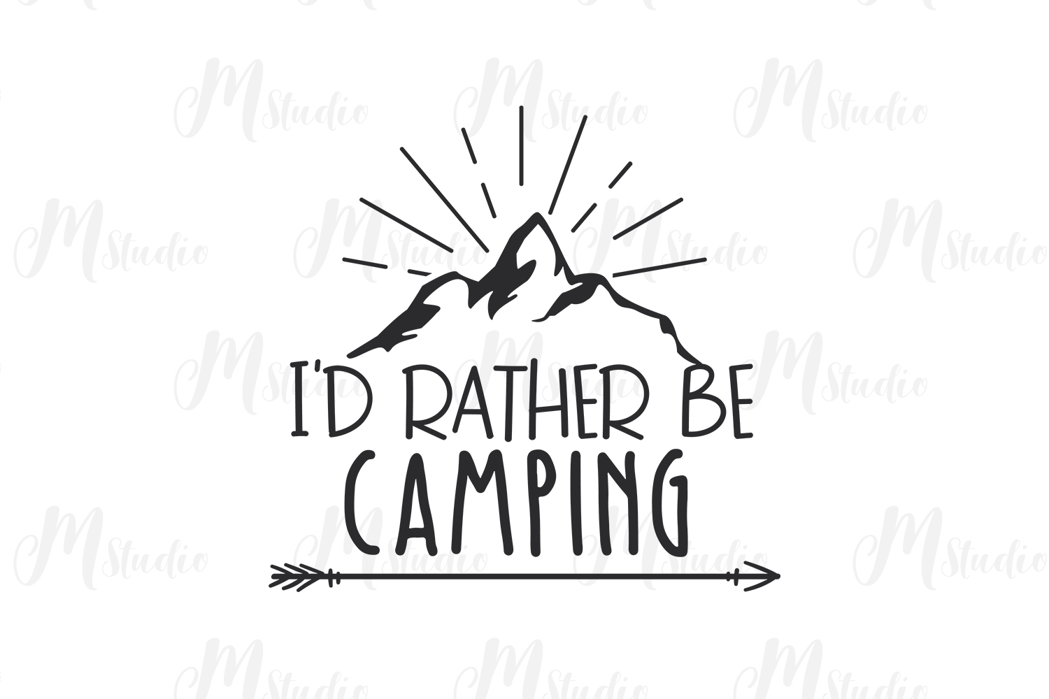 Camping SVG Bundle. example image 19
