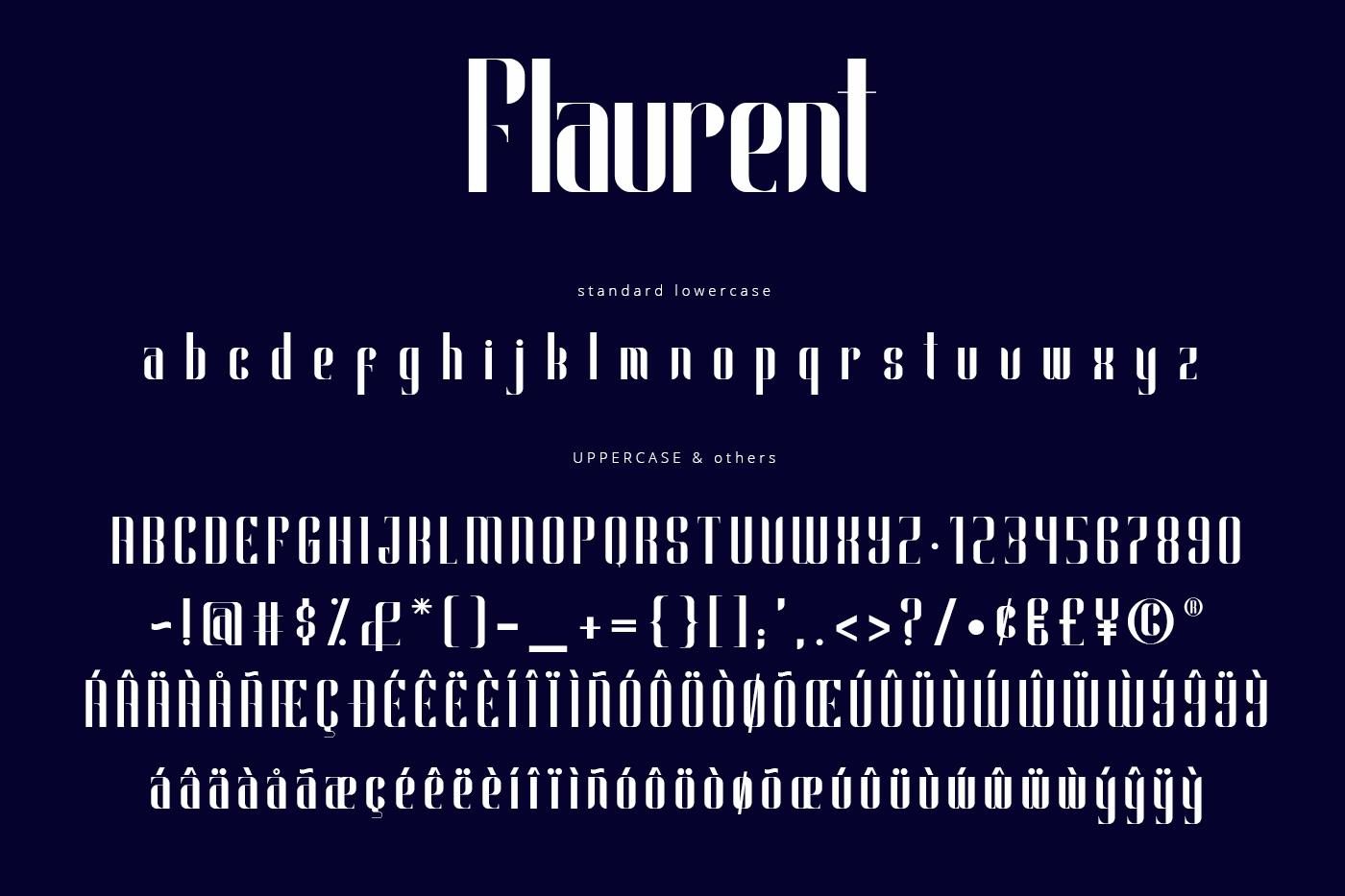 Flaurent Modern Font example image 4